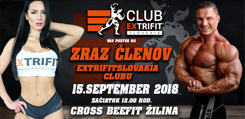 Zraz EXTRIFITSLOVAKIA CLUB 9.2018