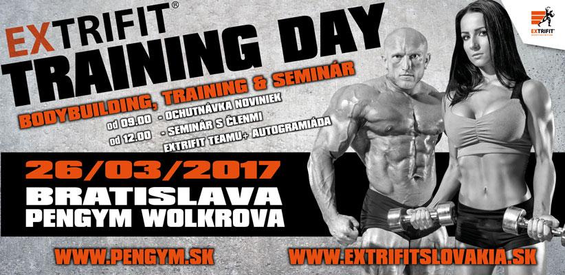 Extrifit Training Day v PENGYM WOLKROVA ,  Bratislava