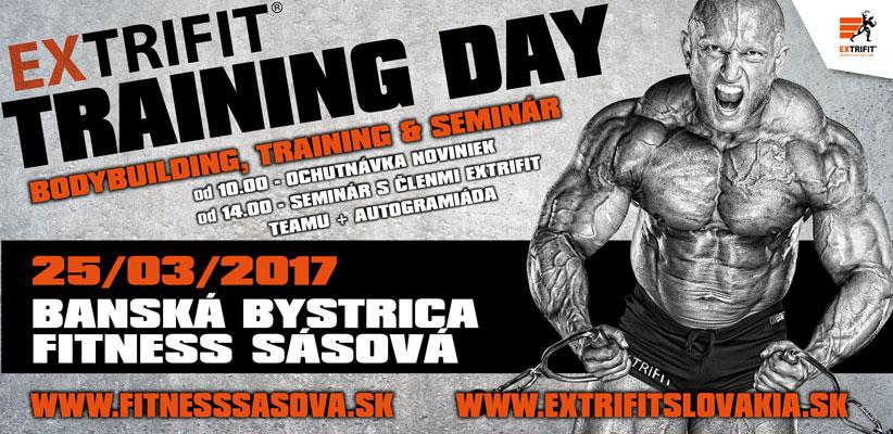 Extrifit Training Day vo Fitness Sásová ,Banská Bystrica
