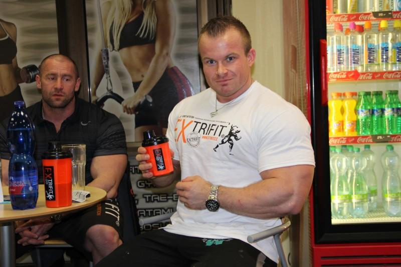 Jakub Šubrt a Radek Lonc-tréning ramien a bicepsov