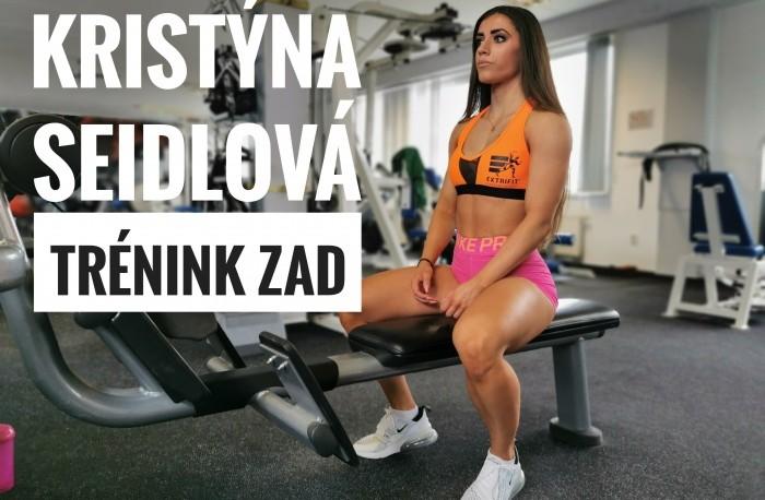 Kritína Seidlová - tréning chrbta