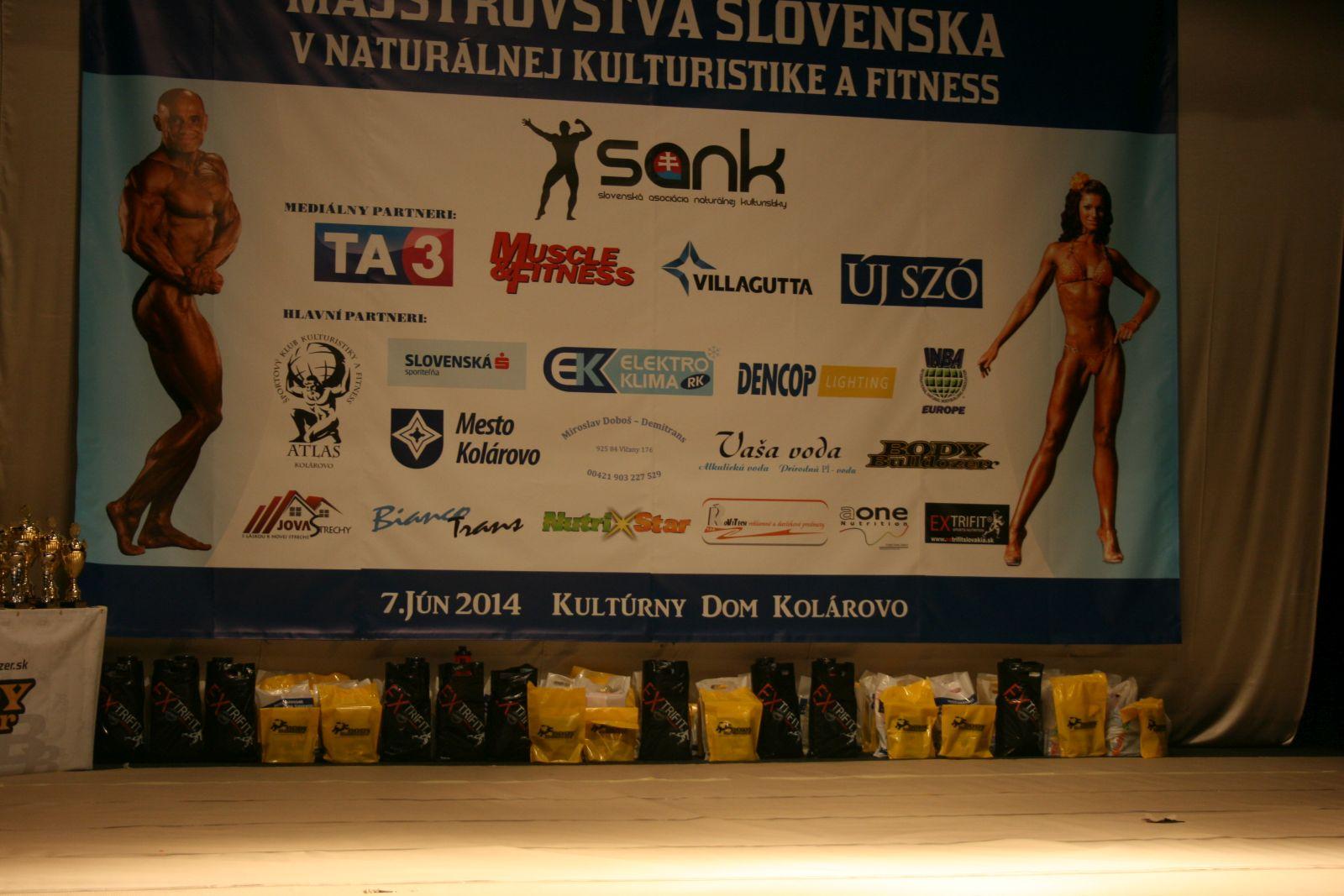 Medzinárodné MSR v naturálnej kulturistike a fitness