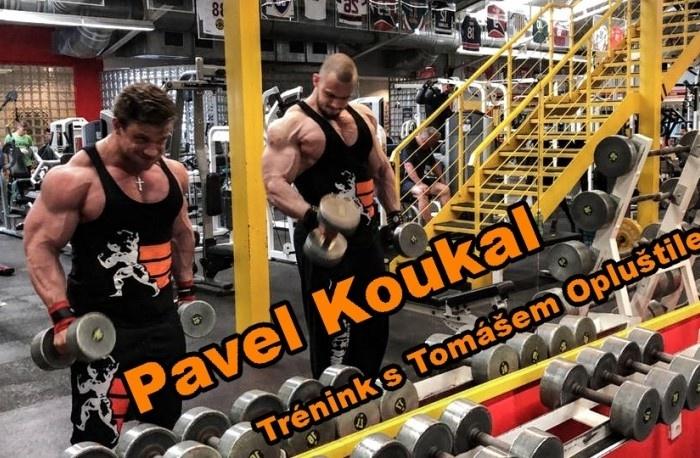 PAVEL KOUKAL - TRÉNING S TOMÁŠOM OPLUŠTILOM