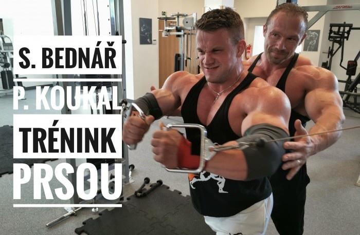 Slavoj Bednáŕ a Pavel Koukal - Tréning Pŕs