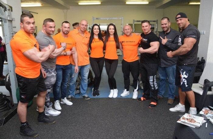 EXTRIFIT TRAINING  DAY NA SLOVENSKU