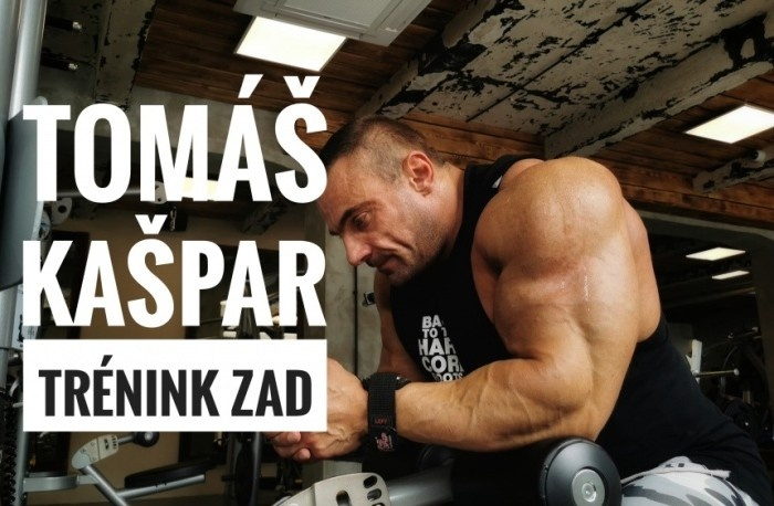 Tomáš Kašpar - Tréning chrbta pred CZECHIA PRO