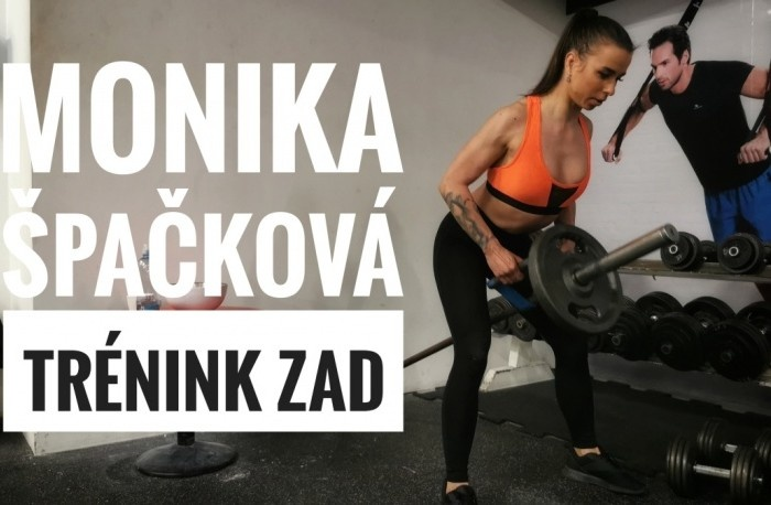 Monika Špačková - Tréning chrbta