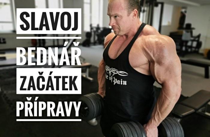Slavoj Bednář - Začiatok prípravy na IFBB PRO 2021