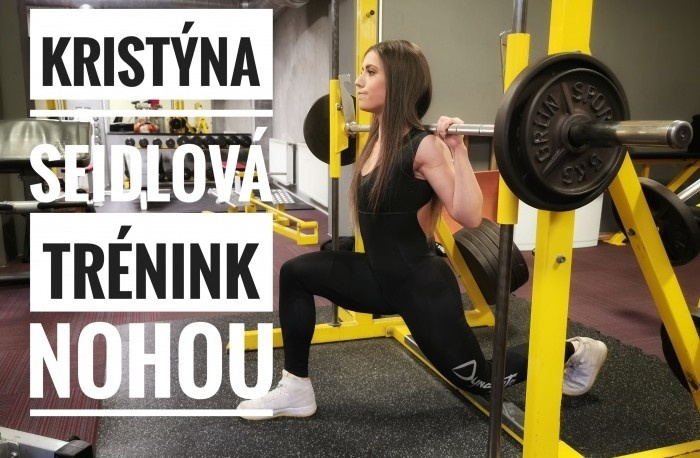 Kristína Seidlová - Tréning nôh 2021