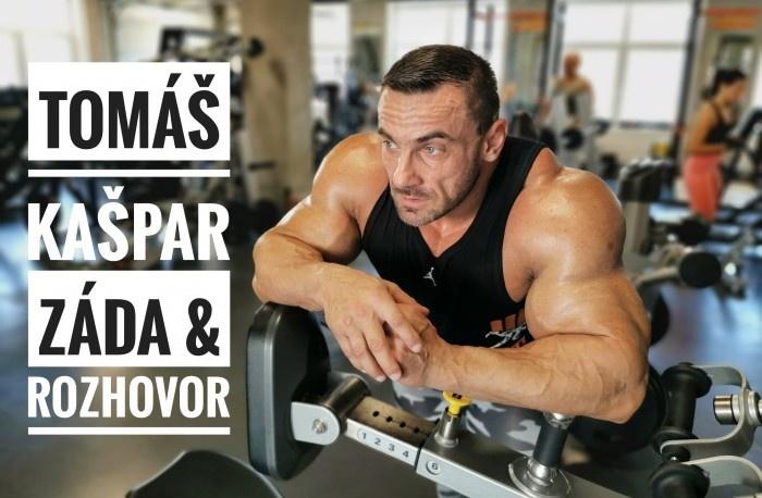 Tomáš Kašpar - rozhovor a tréning chrbta