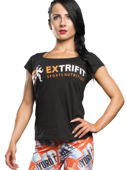 EXTRIFIT® Dámske tričko -krátky rukáv