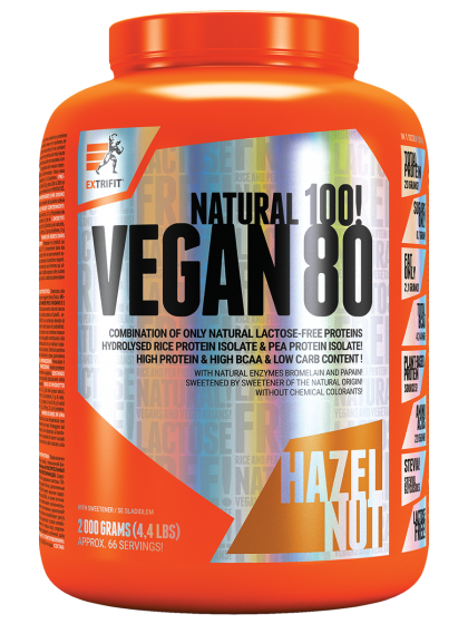 Extrifit rastlinný vegánsky proteín Vegan 80