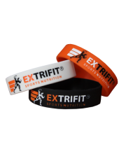 EXTRIFIT Silikónový náramok - Nové logo