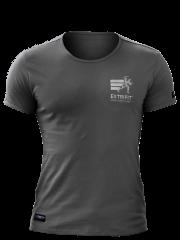 Extrifit Tričko pánske sivé kr. ruk. 07 s výšivkou