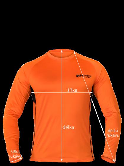 EXTRIFIT® Tričko pánske E06 dl. ruk