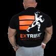 Tričko Extrifit Sports Nutrition čierne - nové logo